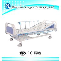 1 crank manual hospital bed medical bed with factory price thumbnail image