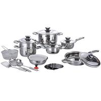 21 Pcs Royal Stainless Steel Cutlery Set Kitchen Dinnerware Set thumbnail image