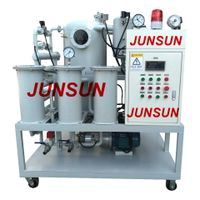 2018 Hot Selling Chongqing JUNSUN Continuous Transformer Oil Reconditioning Machine