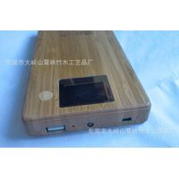 NEW!! 8000 mAh portable charger/ power bank with wood & bamboo cover