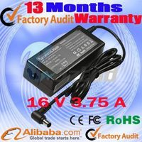 Ac charger for Sony  PCGA-AC16V1 16v 3.75A laptop