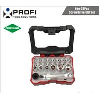 Good quality 24PCS S2 material screwdriver bit hand tools set