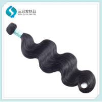 Remy Hair weft 100% human hair  Brazilian Body Wave