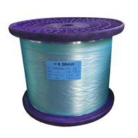 0.68mm AA Grade Monofilament Polyester Yarn For Zipper Teeth