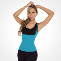 S-Shaper Both Side Ultra Sweat Sports Shapewear Trainer Fitness Fashion Exercise Neoprene T-Shirt