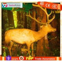 Animatronic Deer Life Size Simulation Animal Model