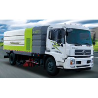 Unloadable garbage truck with gas compartment thumbnail image