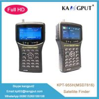 Latest 4.3Inch Handheld full HD/MP4 Satellite Finder