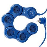5 Outlet Multi Bending pivoting power strip 360 Degree flexible thumbnail image