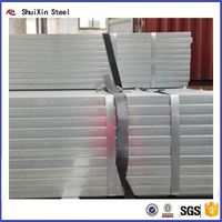 Professional supply gi square tube / gi hollw section / galvanized steel tube for sale