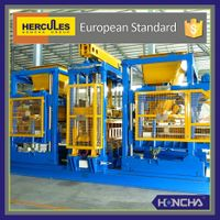 Concrete block machine Hercules, Full-Auto Paver Production Line