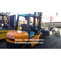 Used 5ton Toyota Diesel Forklift 02-7FD50 thumbnail image