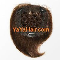 Human Hair Hand Tied Hair Pieces