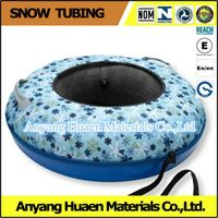 Dry skiing slope summer tubing
