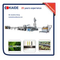 Inline flat emitter drip irrigation tape extruding machinery KAIDE