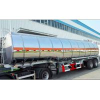 40 000 litres Aluminum Fuel Tank Trailer