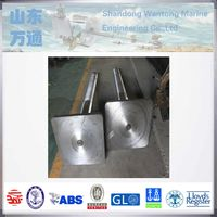 stainless steel rudder pintle rudder stock for shipbuilding