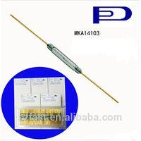 Whosale original 2.3x14.2mm Glass Magnetic Reed Sensors Switch MKA-14103