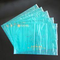 Custom Logo Plastic Packaging Bag for Clothing with Zipper