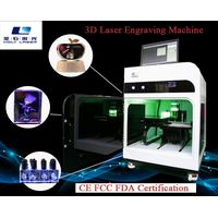 3D crystal glass engraving machine for gifts