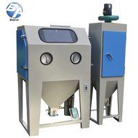 standard suction type common use manual sandblasting cabinet,Cyclone Manufacturing Sandblasters