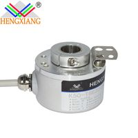 Hengxiang K50 Series Rotary Encoder Hole 14mm Revolution Up To 23040ppr IP65