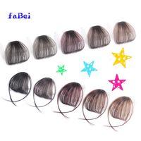 100% human hair bang wig, natural wave hair fringe, wholesale chinese bang wigs hair thumbnail image