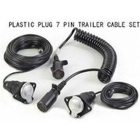 7 pin suzi coily cable for truck,trailer