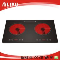 CB/CE Approval Touch Control Double Burners Infrared Cooker SM-DIC06A