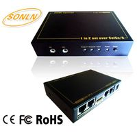 HDMI Splitter 1X2C (50m) with 1080p 3D HD Support thumbnail image