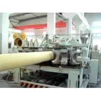 UPVC double wall corrugated pipe machine,