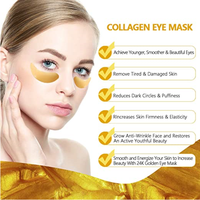 Private Label Gold Collagen Anti-wrinkle Anti Aging Mask Eye Patch Eye care Mask thumbnail image
