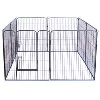 Metal Puppy Playpens for Puppy Playing Outside