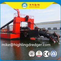 4500 Cubic sand cutter suction dredger