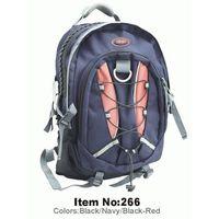 newly MP3 hole  backpack
