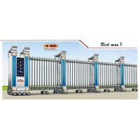 Fashionable Stainless Steel Electric Folding Gate in good price Rich man I thumbnail image