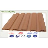 2015 New Design WPC Wood Grain Ceiling