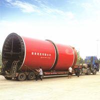 Horizontal Drum Rotary Cylinder Dryer For Sewage Sludge Drying