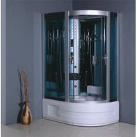luxurious steam shower room with FM radio thumbnail image