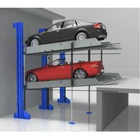 4 Cars Automated Smart Parking Systems Underground Cantilever Pit Intelligent Car Parking System