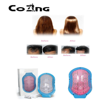 Portable Bald laser Head Hair Growth cold laser treatment helmet for home remedy thumbnail image