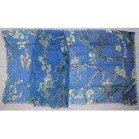 100% Modal scarves with digital prints