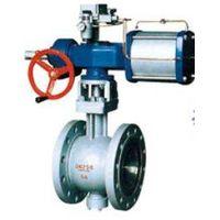 V-regulating ball valve