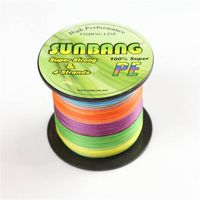 Super Strong Spectra Braided Fishing Line 4 Strands Fly Fishing Line80LB---SUNBANG