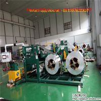 High voltage high frequency transformer winding machine