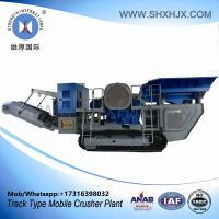 Track Type Mobile Crusher Plant With 120-180 TPH Capacity