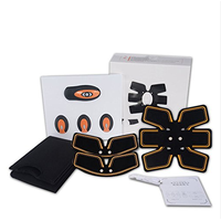 Electric Abdominal EMS Muscle Stimulator ABS Fitness Muscle Trainer Pain Relief Body Toning Health C