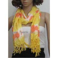 2012 lady's dip dyed sarves handdyed scarves thumbnail image