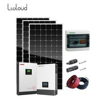 3kw 5kw 8kw off grid mini home solar power system home station solar kit off grid home solar system