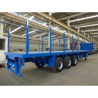 Saudi Arabia 12.5m 3-Axle Flatbed Trailer
